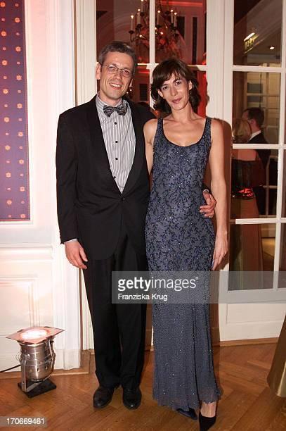 Sandra Maahn + Dr Christoph Goetz Beim Presseball In Hamburg 260102