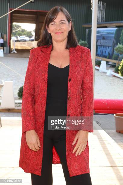 Sandra Maahn during the Glow & Glory Charity Dinner by Cornelia Poletto at Erdbeerhof Glantz on August 10, 2018 in Hamburg, Germany.