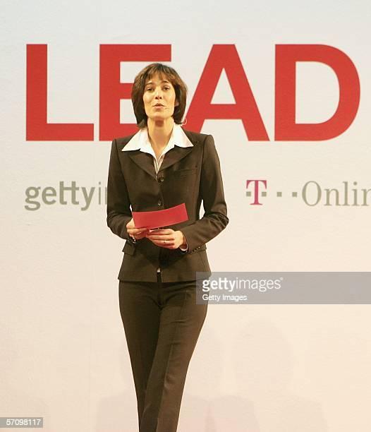 Sandra Maahn, speaks during the LEAD Awards 2006 Symposium at the Deichtorhallen on March 15, 2006 in Hamburg, Germany.