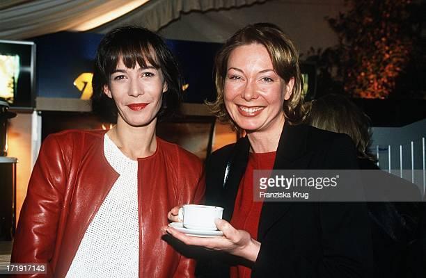 Sandra Maahn und Kerstin Graf Beim Reemtsma Medientreff