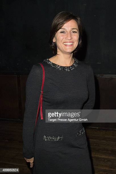 Sandra Maischberger attends the MedienboardPreChristmas Party 2014 at Kraftwerk on December 4 2014 in Berlin Germany