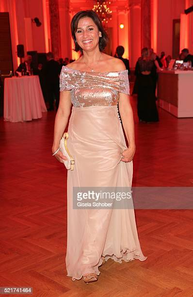 Sandra Maischberger during the 27th ROMY Award 2015 at Hofburg Vienna on April 16 2016 in Vienna Austria