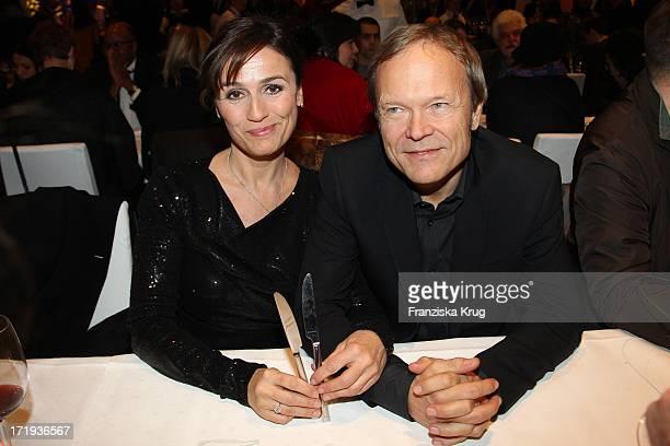 Sandra Maischberger Und Ehemann Jan Kerhart Bei Der Party Zum Eröffnungsfilms Farewell My Queen In Berlin