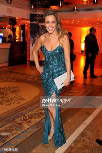 Sandra Maria Gronewald during the German Sports Media Ball at Alte Oper on November 9 2019 in Frankfurt am Main Germany
