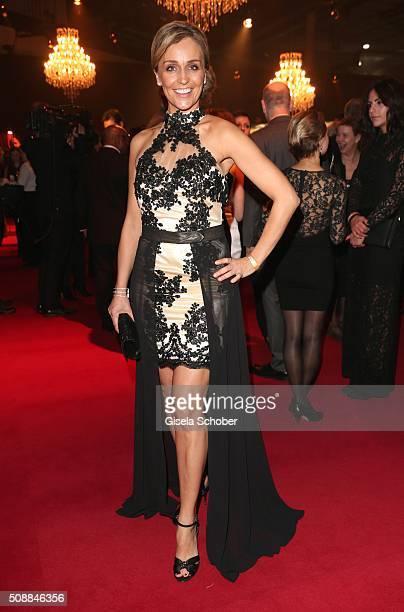 Sandra Maria Gronewald during the Goldene Kamera 2016 reception on February 6 2016 in Hamburg Germany