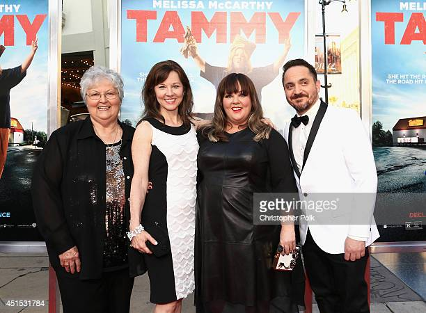 Sandra McCarthy Margie McCarthy filmmakers Melissa McCarthy and Ben Falcone attend the Tammy Los Angeles premiere at TCL Chinese Theatre on June 30...