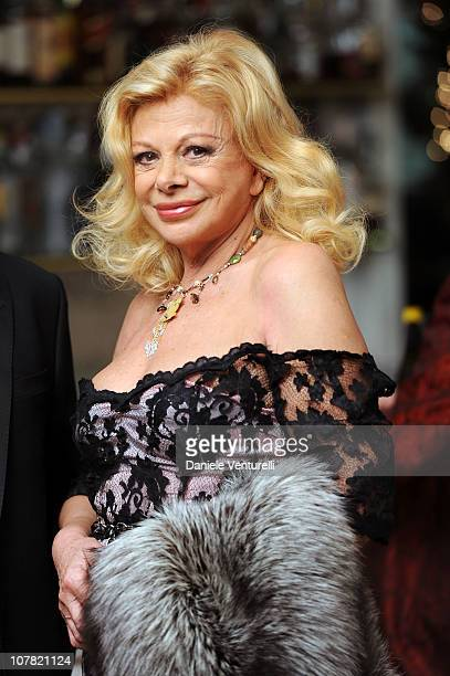 Sandra Milo attends the fourth day of the 15th Annual Capri Hollywood International Film Festival on December 30 2010 in Capri Italy