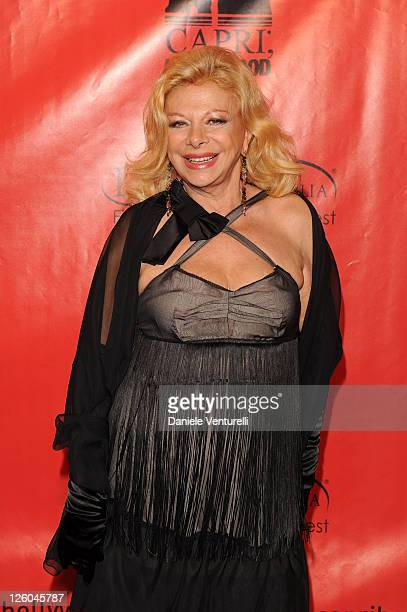 Sandra Milo attends the third day of the 15th Annual Capri Hollywood International Film Festival on December 29 2010 in Capri Italy