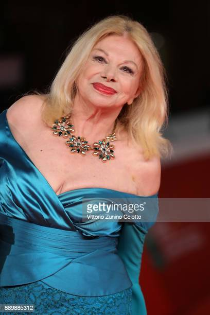 Sandra Milo walks a red carpet for 'Tormentero' during the 12th Rome Film Fest at Auditorium Parco Della Musica on November 3 2017 in Rome Italy