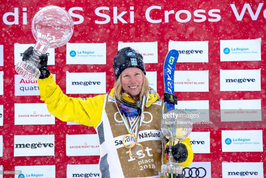 FIS Freestyle Ski World Cup - Men's and Women's Ski Cross finals