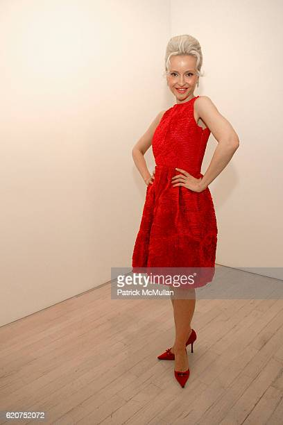 """Sandra Navidi attends GENERATION OBAMA and HARRY STENDHAL host """"ART CRAWL for OBAMA"""" After Party at Maya Stendhal Gallery on July 23, 2008 in New..."""