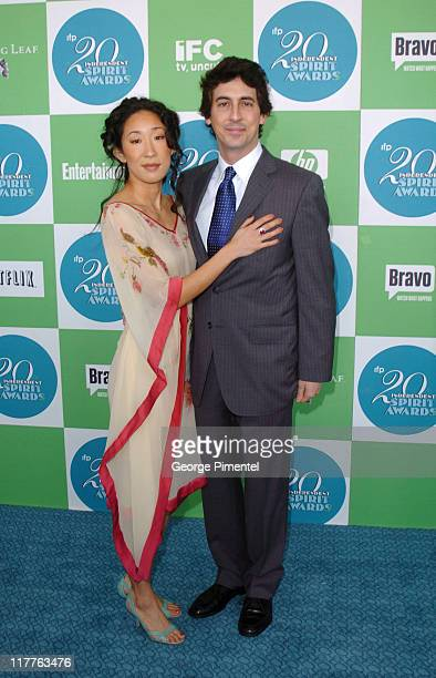 Sandra Oh and Alexander Payne nominee Best Director and Best Screenplay for Sideways