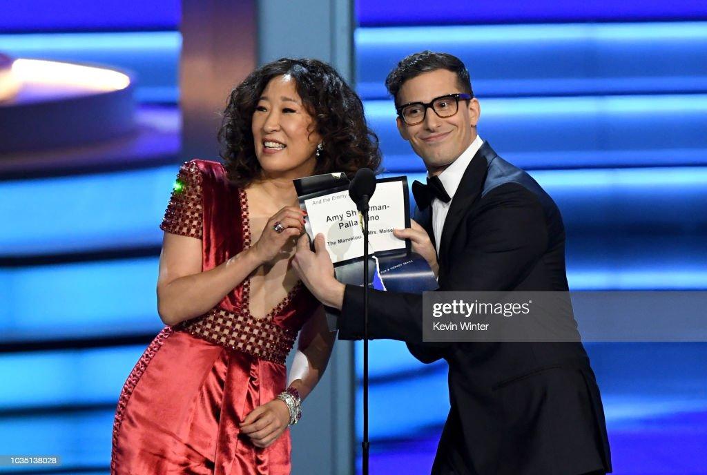 70th Emmy Awards - Show : News Photo