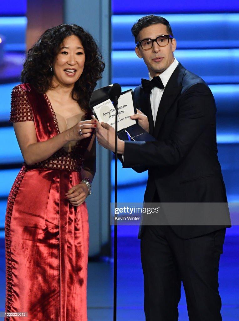 70th Emmy Awards - Show : Nieuwsfoto's