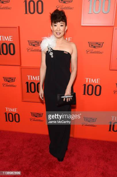 Sandra Oh attends the 2019 Time 100 Gala at Frederick P Rose Hall Jazz at Lincoln Center on April 23 2019 in New York City