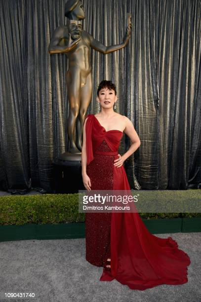 Sandra Oh attends the 25th Annual Screen Actors Guild Awards at The Shrine Auditorium on January 27 2019 in Los Angeles California 480595