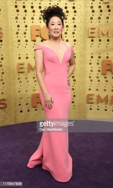Sandra Oh attends the 71st Emmy Awards at Microsoft Theater on September 22, 2019 in Los Angeles, California.