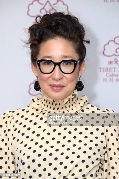 Sandra Oh attends the Tibet House 33rd Annual Benefit Gala at The Ziegfeld Ballroom on February 26, 2020 in New York City.