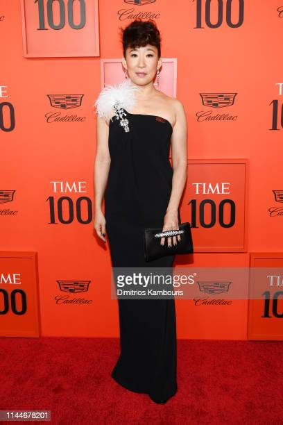 5eb1b424edeb9 Sandra Oh attends the TIME 100 Gala Red Carpet at Jazz at Lincoln Center on  April