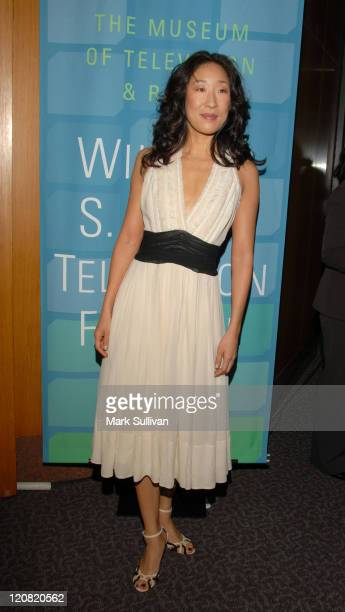 Sandra Oh during 2006 William S Paley Television Festival Grey's Anatomy in Los Angeles California United States
