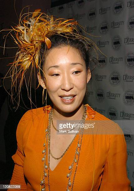 Sandra Oh during The 13th Annual Diversity Awards Red Carpet Arrivals at The Beverly Hills Hotel in Beverly Hills California United States