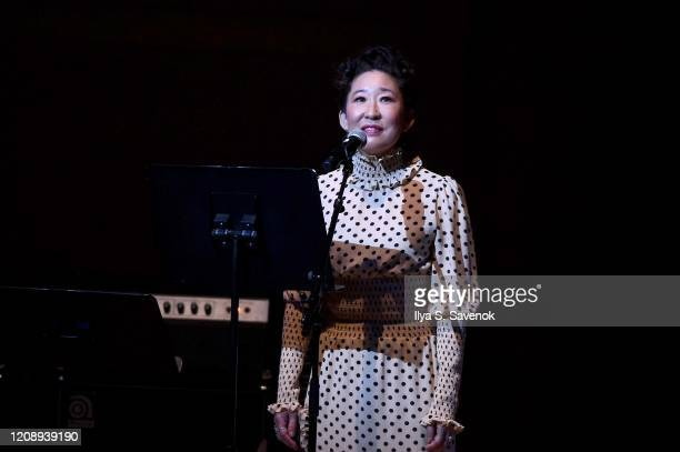 Sandra Oh performs on stage during the 33nd Annual Tibet House US Benefit Concert & Gala on February 26, 2020 in New York City.