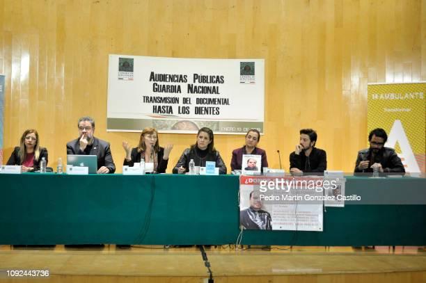 Sandra Paola Gonzalez Castañeda Ernesto Lopez Portillo Vargas Tatiana Clouthier Mexican politician Martha Tagle Martínez Lucia Baca Mexican actor...