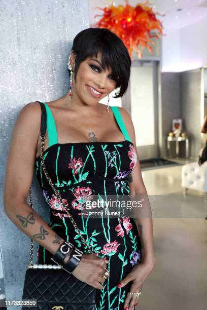 Sandra Pepa Denton attends the Treach Cicely Evans Wedding at Waterside Reception Hall on September 08 2019 in North Bergen New Jersey