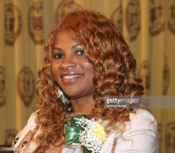 Sandra Pepa Denton during 2005 Jamaican Independence Day Celebration Honorees at City Hall in New York City New York United States