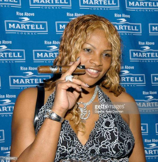 Sandra Pepa Denton during Martell Cognac Hosts Eddie George's Bachelor Party at CEO in New York City New York United States