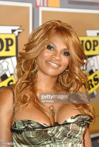 Sandra Pepa Denton of SaltNPepa honoree during 2005 VH1 Hip Hop Honors Gold Carpet at Hammerstein Ballroom in New York City New York United States
