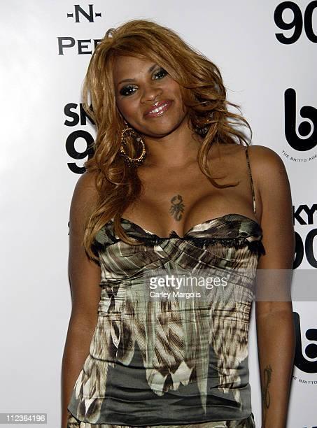 Sandra Pepa Denton of SaltNPepa honoree during 2005 VH1 Hip Hop Honors SaltNPepa After Party at Taj in New York City New York United States