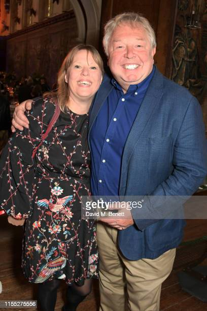 Sandra Phylis Conolly and Nick Ferrari attend the Audi Sentebale Concert at Hampton Court Palace on June 11 2019 in London England