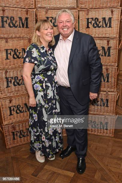 Sandra Phylis Conolly and Nick Ferrari attend the Fortnum Mason Food and Drink Awards on May 10 2018 in London England