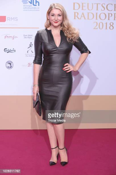 Sandra Quadflieg attends the Deutscher Radiopreis at Schuppen 52 on September 6 2018 in Hamburg Germany