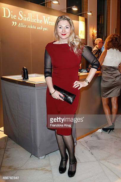 Sandra Quadflieg attends the Media Entertainment Night 2014 at Atlantik Hotel on October 06 2014 in Hamburg Germany