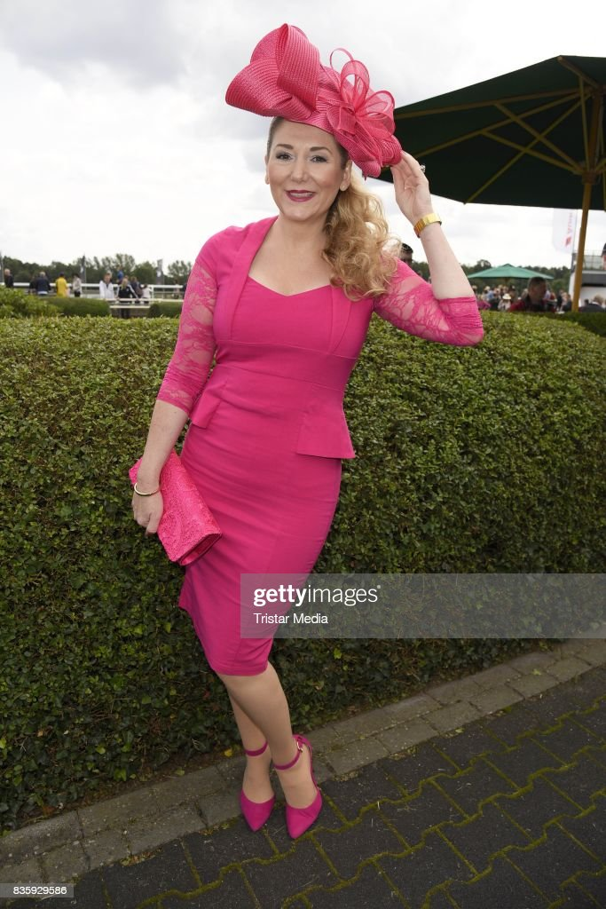 Sandra Quadflieg during the Audi Ascot Race Day (Renntag) 2017 on August 20, 2017 in Hanover, Germany.