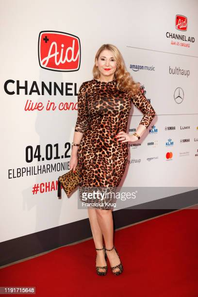 Sandra Quadflieg during the Channel Aid Live in concert at Elbphilharmonie on January 4 2020 in Hamburg Germany