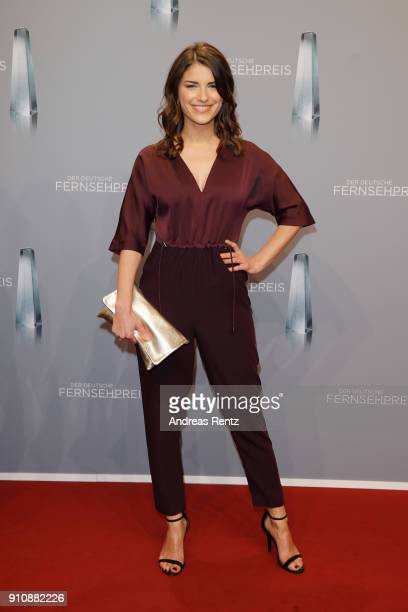 Sandra Riess attends the German Television Award at Palladium on January 26 2018 in Cologne Germany