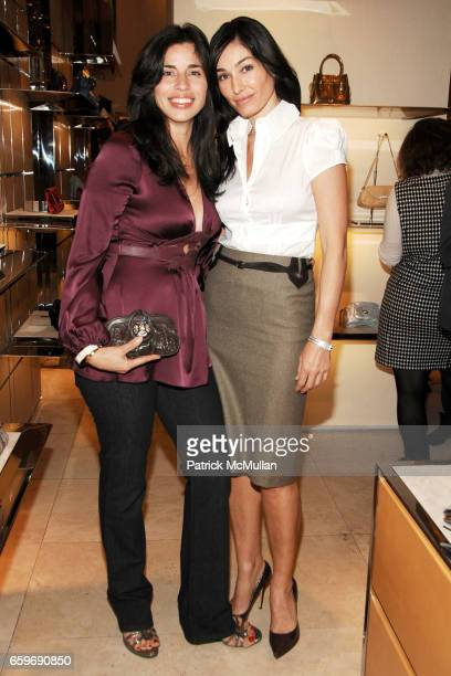 Sandra Ripert and Dara Tomanovich attend TOD'S and VOGUE Event to Benefit SAVE VENICE at TOD'S on March 11 2009 in New York