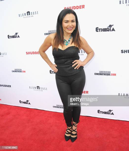 Sandra Santiago attends the 6th Annual Etheria Film Showcase held at American Cinematheque's Egyptian Theatre on June 29 2019 in Hollywood California