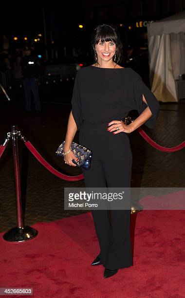 Sandra Schuurhof arrives at the Circus Theatre for celebrations marking the 200th anniversary of the Kingdom of The Netherlands on November 30 2013...