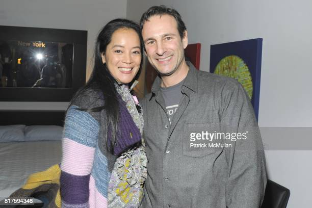 Sandra Siden Bell Lyster and David Schlachet attend 8TH ANNUAL BoCONCEPT/KOLDESIGN HOLIDAY PARTY at BoConcept on December 14 2010 in New York City