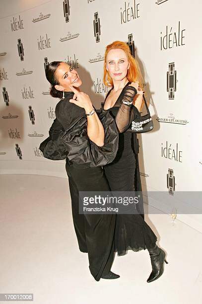 Sandra Speichert and Andrea Sawatzki at The German Launch Of watch 'Ideals' from Jaeger Lecoultre at Opera Hall in Munich on 101104