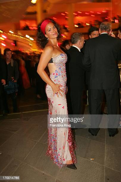 Sandra Speichert At The After Party The 55th Ceremony Of The 'German Film Award' in the Berlin Philharmonic Hall on 080705