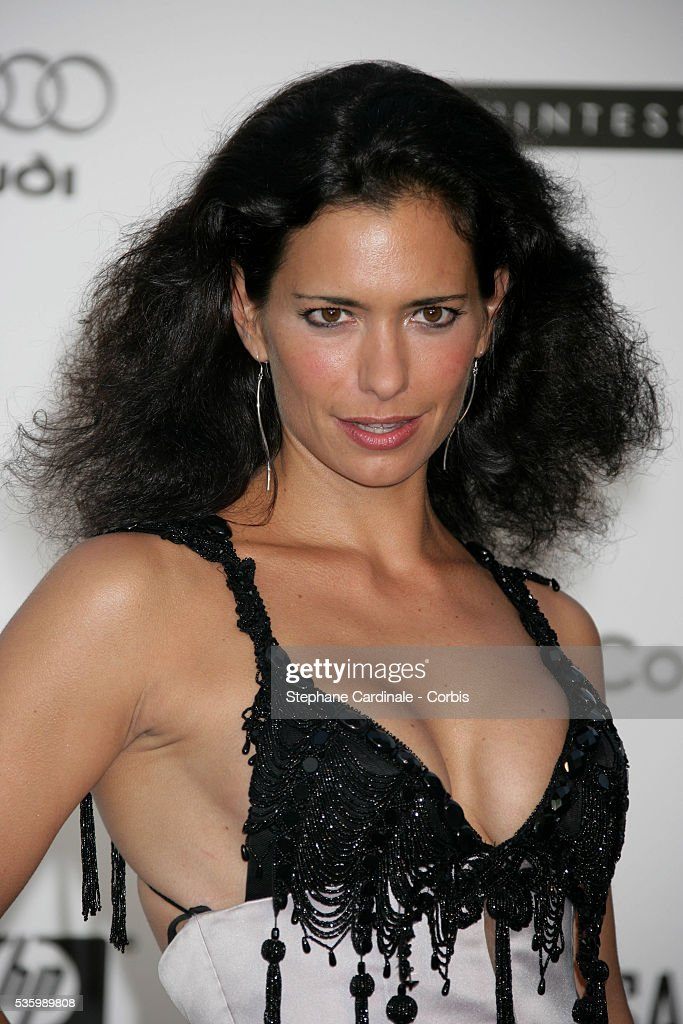 Sandra Speichert at the 'AMFAR' Party during the 59th Cannes Film Festival.
