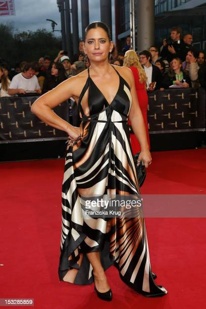 Sandra Speichert attends the German TV Award 2012 at Coloneum on October 2 2012 in Cologne Germany