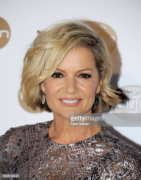 Sandra Sully arrives ahead of the Australian Survivor Launch Party on May 11 2016 in Sydney Australia