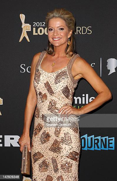 Sandra Sully arrives at the 2012 Logie Awards at the Crown Palladium on April 15, 2012 in Melbourne, Australia.