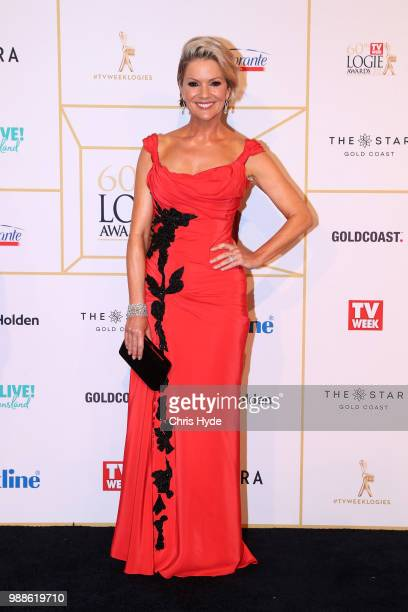 Sandra Sully arrives at the 60th Annual Logie Awards at The Star Gold Coast on July 1 2018 in Gold Coast Australia